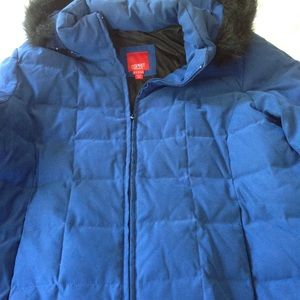 NWOT Esprit quilted jacket with hood